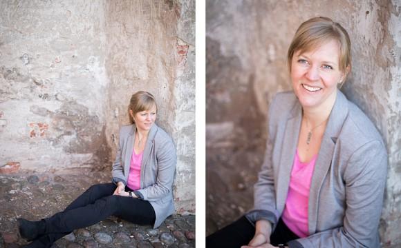 Porträttfotografering Uppsala Slott