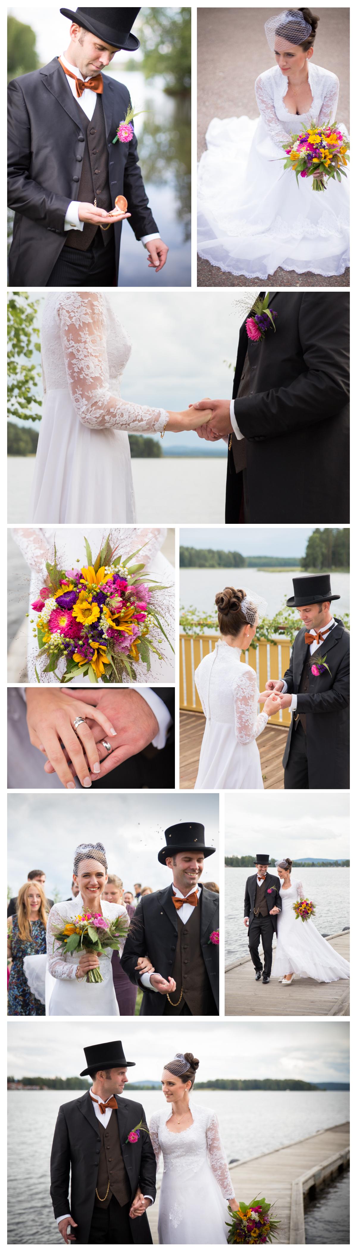 Bröllopsfotografering Falun Dalarna Fru Thorsell Fotografi