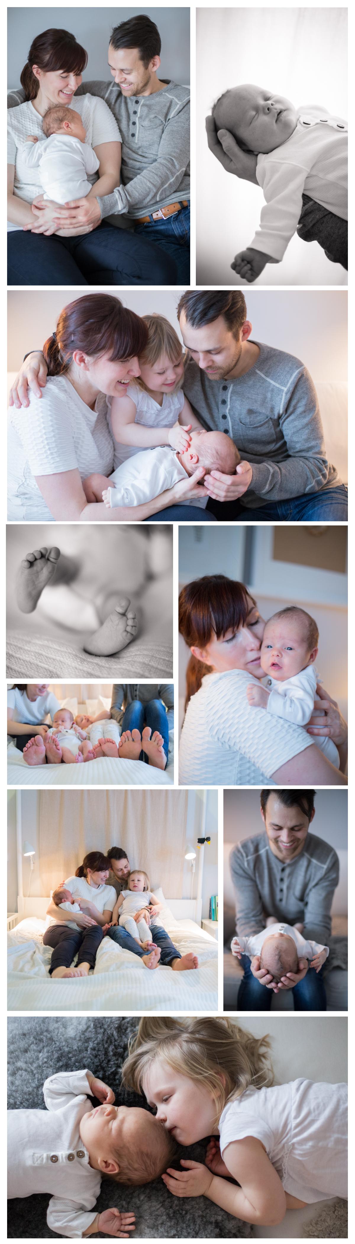 Nyfödd lifestyle Fru Thorsell Fotografi