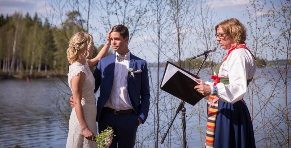 Bröllopsfotograf Stjärnsund Dalarna Fru Thorsell Fotografi